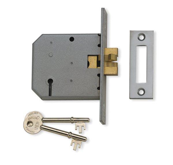 Union 2477 3 Lever Sliding Door Lock