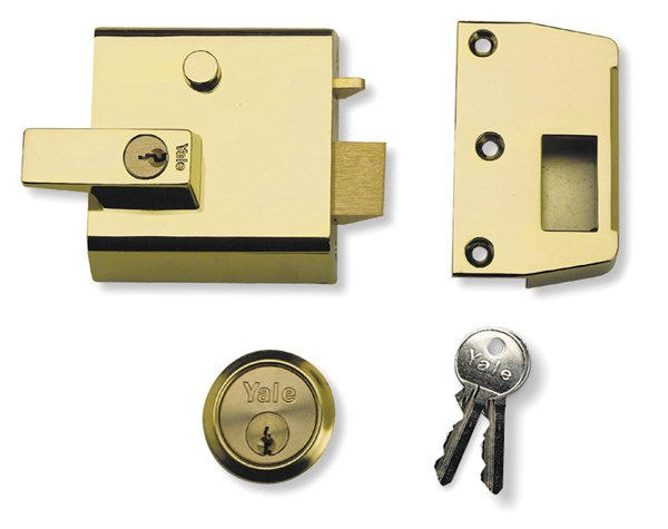 Yale No 1 Double Security Rim Lock